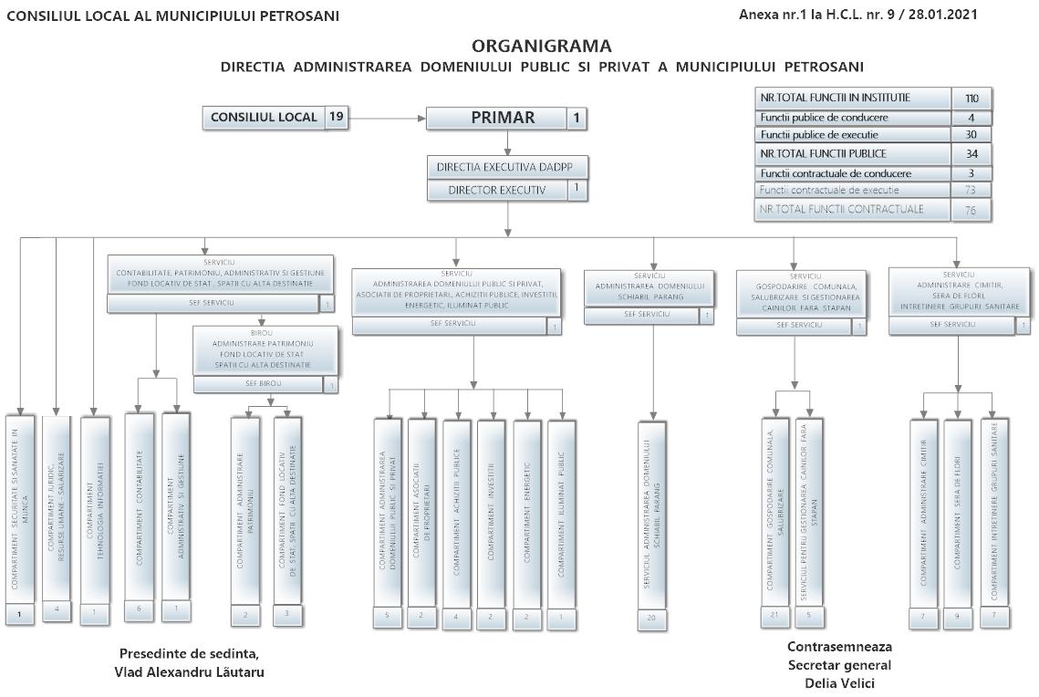 ORGANIGRAMA DADPP